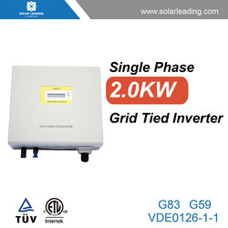 Best price 2kw inverter charger and solar charger controller connect to solar pv modules for grid tie home solar system