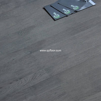 3-ply 3-strip 189mm width white oak engineered flooring