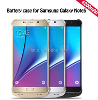 New 4200mAh External Battery Case For Samsung Galaxy Note5