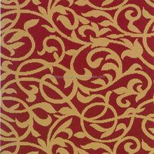Fashion unique ribbed embroidered carpet