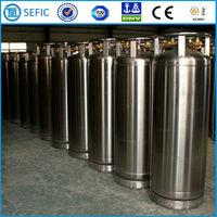 CE Approved Industrial Gas Welded Thermal-insulating Cylinder Liquid Nitrogen Dewar