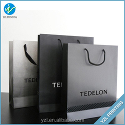 Chinese Luxury Craft Paper Bag For Business Shopping