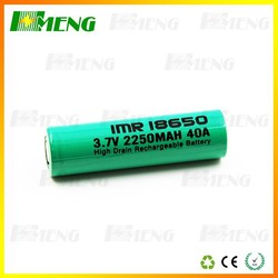 li-ion battery cell 18650 Lithium ion battery Sanyo UR18650A 2250mAh HMENG 18650 Battery 2250mah