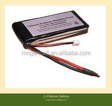 Individual Lipo Cells,Lower Price Li-Polymer Battery Pack,7.4v 1900mAh Li-Polymer battery