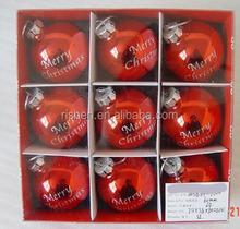High quality plastic Christmas ball with logo,plastic christmas balls for ornament,home decoration plastic christmas balls