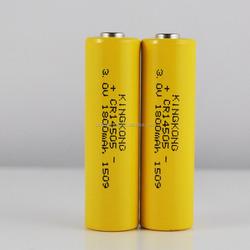 GEB 3v aa battery li mn 3v battery cell Lithium-Manganese battery CR14505 1800mAh