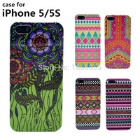New bohemia Aztec Case for iphone 5s Design Art cell mobile Phone cases fashion pattern hard cover case for Iphone 5 5S
