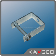 Qualified U shaped Galvanized steel stamping bracket