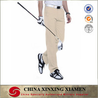 Colorful Polyester Dri Fit Golf Pants for Pro Golfer