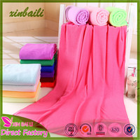 Hot Sale Wholesale Cheap Colorful Microfiber Bath Towel