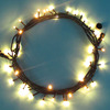 IP65 waterproof led rubber wire holiday garden tree decoration curtain lights led