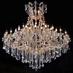 Luxury Maria Theresa Crystal Chandelier Hotel Lobby Chandeliers Cristal Lighting in Dubai CZ6052/44