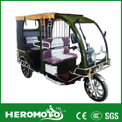 60v 1100w India Battery Power Tricycle/Electric 3 Wheel Pedal Rickshaw