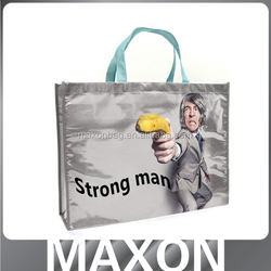 recyclable 2015 new fashion custom recycle foldable pp non woven bag,laminated non woven bag