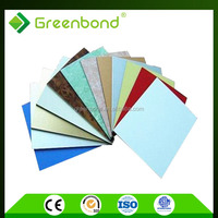 Greenbond aluminum cladding panel for wall decorative materials in shanghai