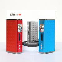 Wholesale vaporizer batteries vapor mod temperature control eiffel t1 e-cigarette tc box mod