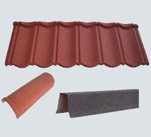 Synthetic Tile Roofing/synthetic Thatch Roof/colorful Stone Roof Tile