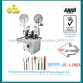 Js-4000 totalmente automático js-4000 totalmente automático que prensa terminal de la máquina para la terminal común( doble cabe