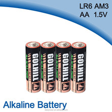 4 Shrink pack Size aa Primary battery lr6 am3