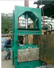 High quality 80T Pressure plastic bottle baler/ vertical hydraulic PET bottle packing machine
