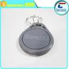 MIFARE nfc key tags/13.56mhz plastic rfid key fobs with metal ring
