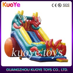 inflatable giant dragon slide,inflatable slide for adults,commercial inflatable slide