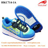 retractable single wheel automatic button roller skate shoes for adults and kids