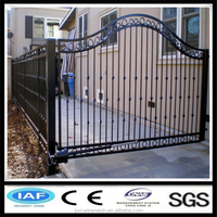 Low carbon steel wire cheap wrought iron gates