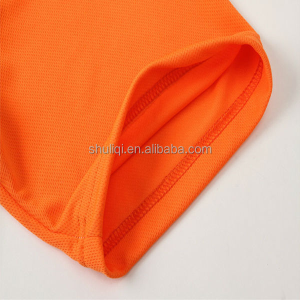 100% polyester mesh fabric sportswear club customised design