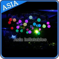 Wholesale Waterproof Inflatable led Light Balloons for Decorations, Giant ground Balloons for Outdoor LED Display