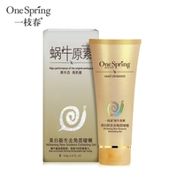 OEM snail element series face wash for acne