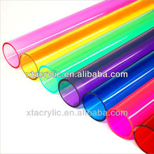 flexible diameter colored acrylic/pmma tube produced directly from China manufacturer SGS approved