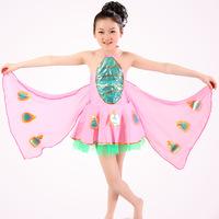 animal bee costumes Children latin dance dress