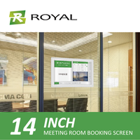 14 inch touch screen for meeting room booking