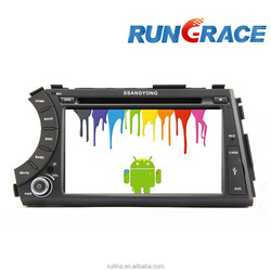ssangyong actyon rexton 2 din Android Car DVD Player