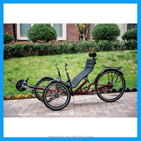 roadster folding recumbent trikes adult tricycle for sale