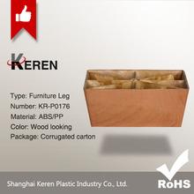 Wooden-like Plastic Sofa Leg