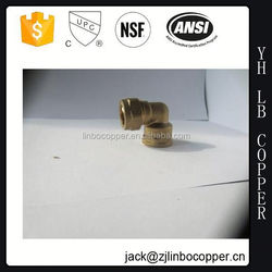 Popular forged brass compression fitting male straight union for pe(x)-al-pe(x) composit pipe