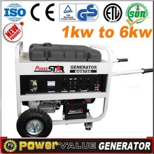 Power Value Generator Supplier Household Generator,Small Gasoline Generator,Chinese Generator Price With CE