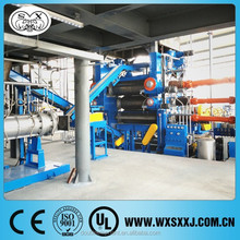 three rolls calender machine to make rubber conveyor belt