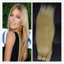 Wholesale brazilian hair weft no shedding no dry ends hair extension