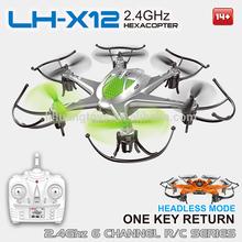 Alta calidad juguetes 4CH 6 Axis Gyro libración Flying RC Drone con retorno automático Quad Copter Mini Drone para <span class=keywords><strong>los</strong></span> niños