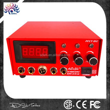 ADShi high quality wholesale tattoo power supply with frame digital signals Dual Tattoo Power Supply