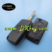 3 buttons car keys for Peugeot remote key peugeot 406 key remote with trunk middle button CE0536 434 MHz ID46 Chip