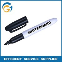 Black Color Custom Whiteboard Marker With Holder