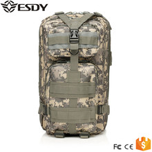 Tactical Camouflage 3P ACU Nylon Soft Bag Hiking Attack Packets Outdoor Mountaineering Backpack