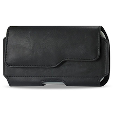 Premium Leather Pouch Carrying Case for iPhone 6 with Belt Clip Belt Loops Holster