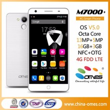 Best Configuration Phone M7000+ OEM 5.5inch 3GB Ram OCTA CORE Android 5.0 4G cell phone high end