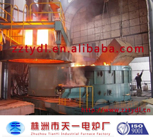 5 ton electric arc furnace for excellent carbon steel and all kinds of alloy steel