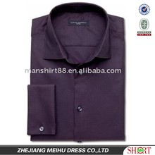 new men's polyester microfiber dress shirts with long sleeves